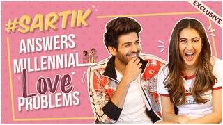 Sara Ali Khan & Kartik Aaryan SOLVE Love ISSUES For Valentine's Day | Love Aaj Kal | EXCLUSIVE