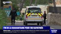 Coronavirus: fin de la quarantaine à Carry-le-Rouet pour 180 Français rapatriés de Chine