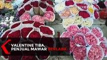 Valentine Datang, Untung Besar Untuk Pedagang