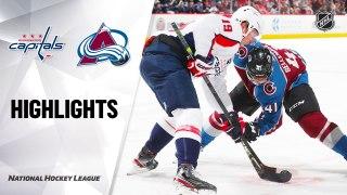 Colorado Avalanche vs. Washington Capitals - Game Highlights