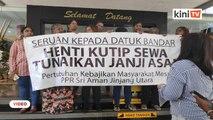 Penduduk PPR Sri Aman tuntut DBKL tunai janji tak kenakan sewa