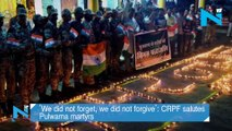 'We did not forget, we did not forgive'  CRPF salutes Pulwama martyrs