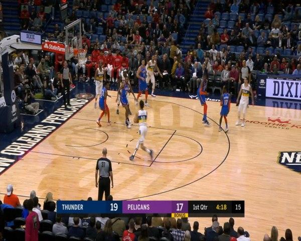 OKC down the Pelicans despite Zion's career-high 32 points