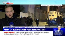Coronavirus: les premiers rapatriés de Wuhan sont sortis de quarantaine à Carry-le-Rouet