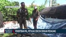 Penertiban Pkl, Petugas Cekcok Dengan Pedagang