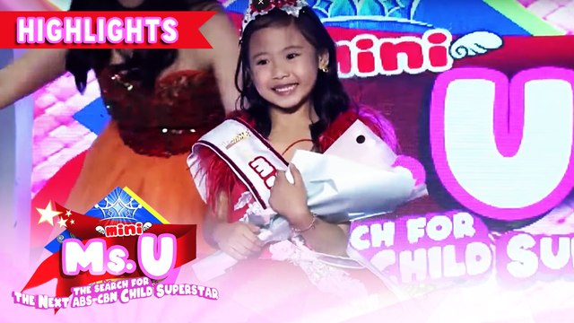 Yndra Fernandez wins as Mini Miss U of the day | It's Showtime Mini Miss U