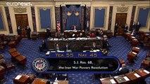 Le Sénat américain défie Donald Trump en tentant de limiter ses actions militaires