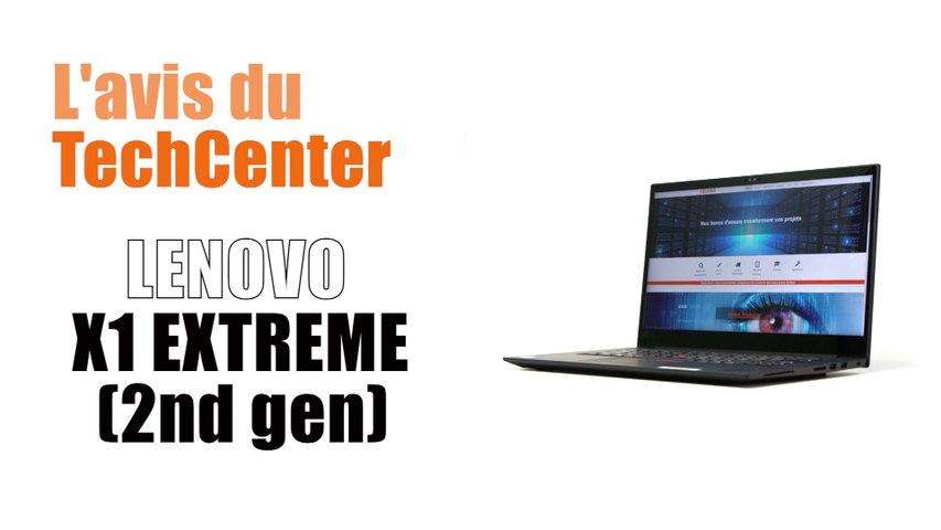 En direct du TechCenter Céleris le nouveau Lenovo ThinkPad X1  Extreme (2e génération)