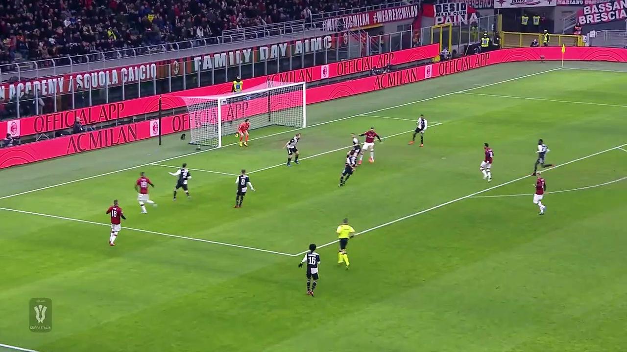 Milan - Juventus (1-1) - Maç Özeti (Geniş) - Coppa Italia 2019/20