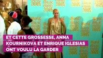 Anna Kournikova et Enrique Iglesias parents pour la troisième fois : l'ex-tenniswoman a accouché d'une petite fille