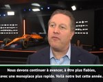 "McLaren - Brown : ""Continuer à progresser"""