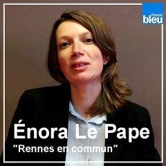 Rennes 2020 : le quiz des candidats de France Bleu Armorique - Enora Le Pape