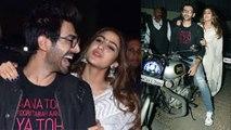 Love Aaj Kal 2 की Screening पर Sara Ali Khan और Kartik Aryan ने की जबरदस्त Entry | Boldsky