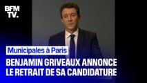 """""""Des attaques ignobles"""": Benjamin Griveaux évoque les raisons du retrait de sa candidature à la mairie de Paris"""
