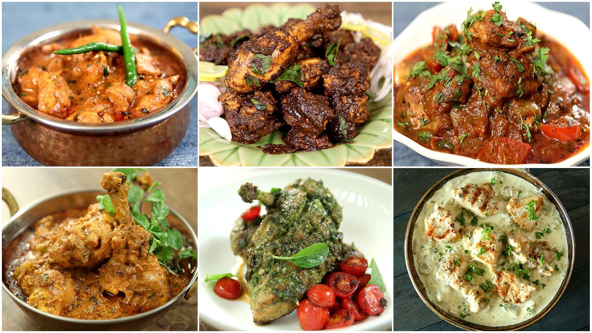 Valentine's Day Dinner Recipes   Easy Chicken Recipes   Creamy Mushroom Chicken   Chicken Ghee Roast
