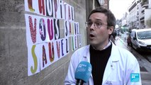 French medical staff walk out in protest over worsening conditions