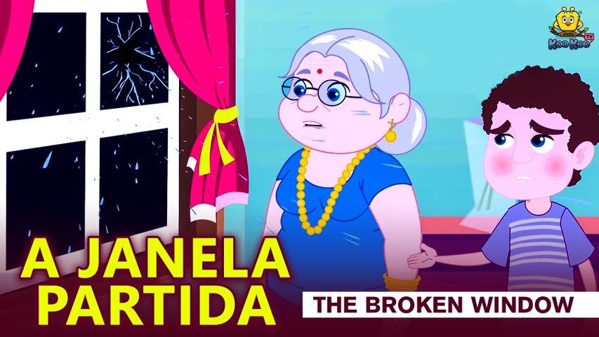 A JANELA PARTIDA | Histórias de crianças portuguesas | Contos de Fadas | Koo Koo TV
