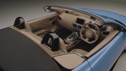 Aston Martin Vantage Roadster - Le design intérieur