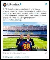 Barça Fan Tokens: la criptomoneda del FC Barcelona