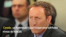 Canada : un homme politique moqué pour son faible niveau de français