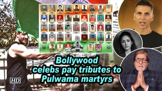Bollywood celebs pay tributes to Pulwama martyrs