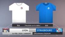 Match Preview: Lyon vs Strasbourg on 16/02/2020