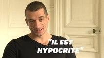 """Pour Piotr Pavlenski, Benjamin Griveaux est """"un grand hypocrite"""""""