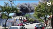 Ônibus é incendiado em Tabuazeiro