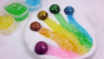 Edy Play Toys - Glue Slime Balloons Foam Clay Colors Finger Learn Colors And Sur