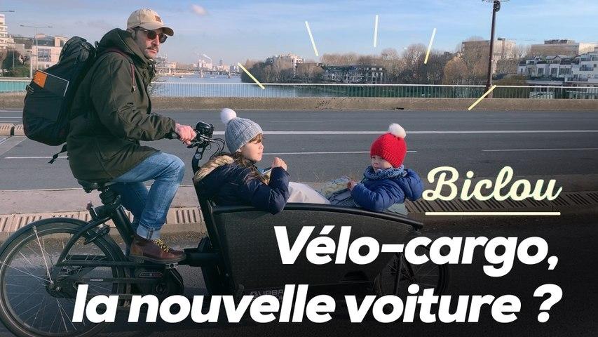 Vélo-cargo, la nouvelle voiture familiale ?