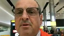 Passenger describes flight 'with suspected coronavirus case'