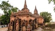 Myanmar'da tapınak önünde çekilip internete yüklenen cinsel ilişki videosu tepki çekti
