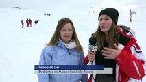 Reportage -Les chiens d'avalanche s'exercent, les étudiants admirent