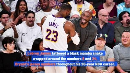 Celebrities Honor Kobe Bryant With Tattoos