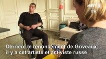 Piotr Pavlenski, l'artiste et activiste russe derrière le renoncement de Griveaux