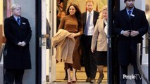 Meghan Markle Stepped Out in an Monochromatic Outfit Anyone Can Recreate
