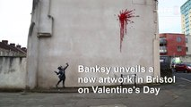 New Valentine's Day artwork by Banksy in Bristol