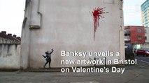 New Valentine's Day artwork by Banksy in Bristol
