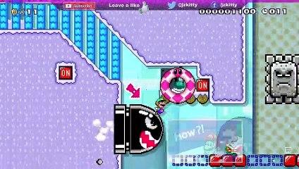 LET'S PLAY SUPER MARIO MAKER 2 - SPEEDY SNOW SWITCHER SPEEDRUN LEVEL