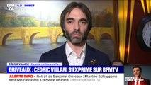 """Cédric Villani: """"Je redis à Benjamin Griveaux, à sa famille et à ses équipes, tout mon soutien dans cette épreuve"""""""