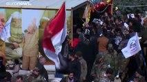 عراقيون يحيون ذكرى مرور 40 يومًا على مقتل قاس