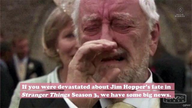 Hopper's fate is revealed in the new Stranger Things Season 4 teaser