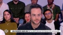 Les points sur les i : La rhétorique de François Hollande - Clique - CANAL+