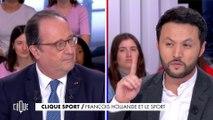 François Hollande et le sport - Clique - CANAL+