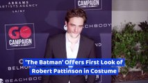 'The Batman' Offers First Look of Robert Pattinson in Costume