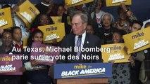 Primaire démocrate: Bloomberg parie sur le vote des Noirs au Texas