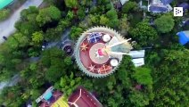 The Wat Samphran, from the Philippines, is the Dragon Temple