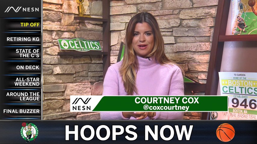 Hoops Now: C's Retiring Kevin Garnett's Jersey, and Players Heading To All-Star Weekend