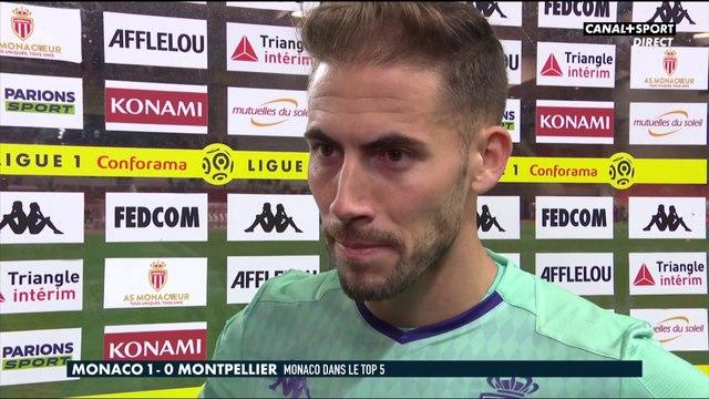 La réaction de Benjamin Lecomte après Monaco / Montpellier - Late Football Club