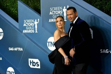 Jennifer Lopez and Alex Rodriguez Had an Incredibly Coordinated Pre-Valentine's Day Date